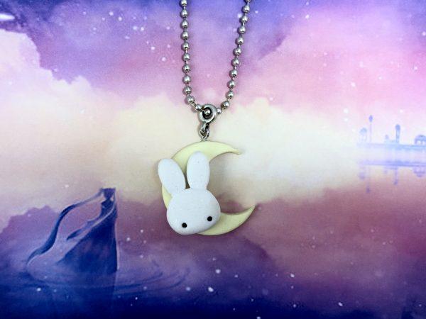Collana Usagi Tsukino Coniglietto sulla Luna