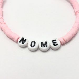 Bracciale personalizzabile con perline
